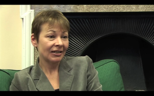 Caroline Lucas, MP for Brighton Pavilion and leader of the Green Party of England & Wales
